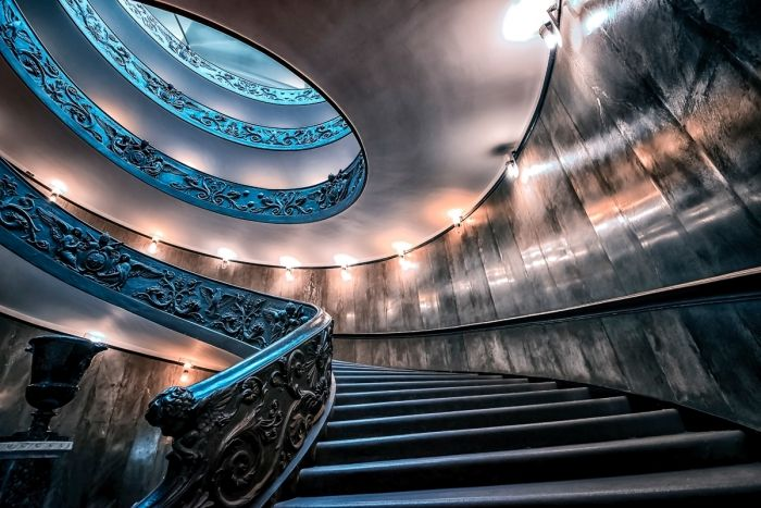 Bramante stairs