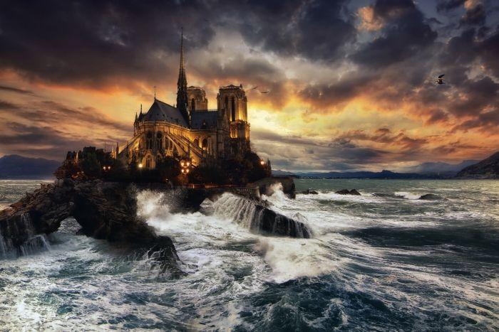 Notre-Dame de Paris inondation