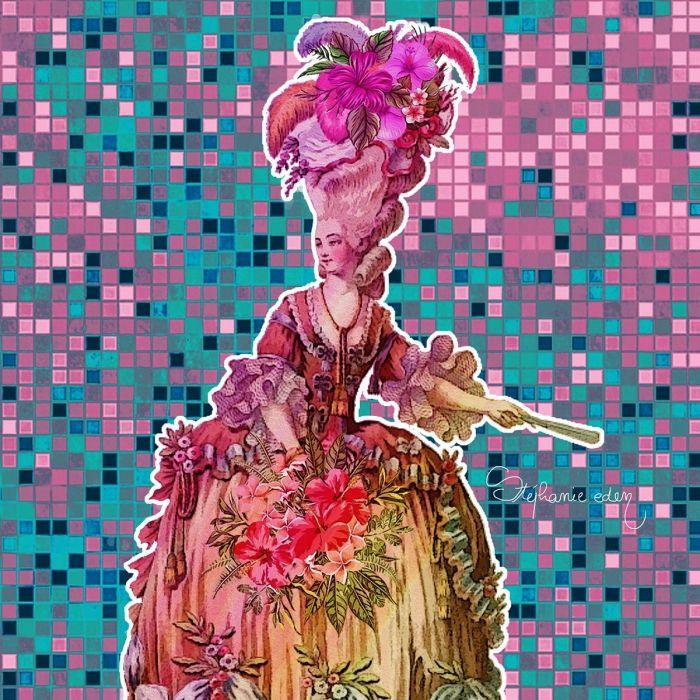 Marie Antoinette Tropical Queen
