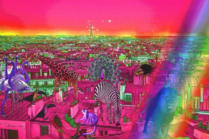 Paris savannah