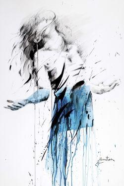 Danse, bleu