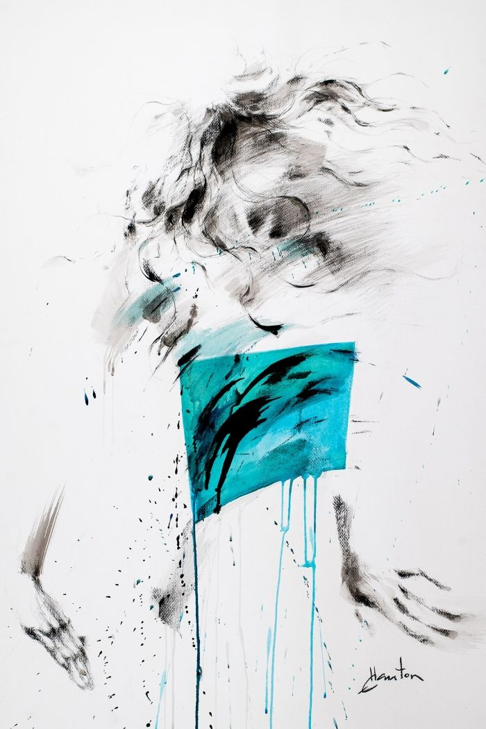 Danse, turquoise