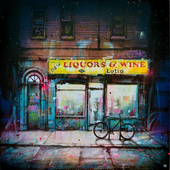 Liquors and wine