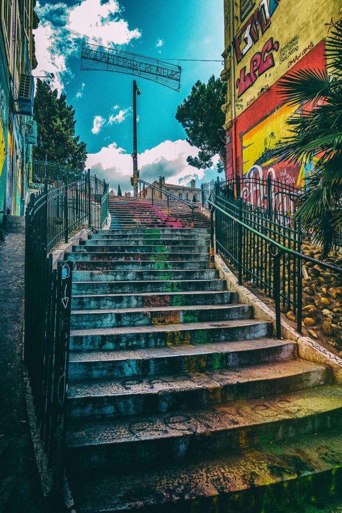Escalier des créateurs