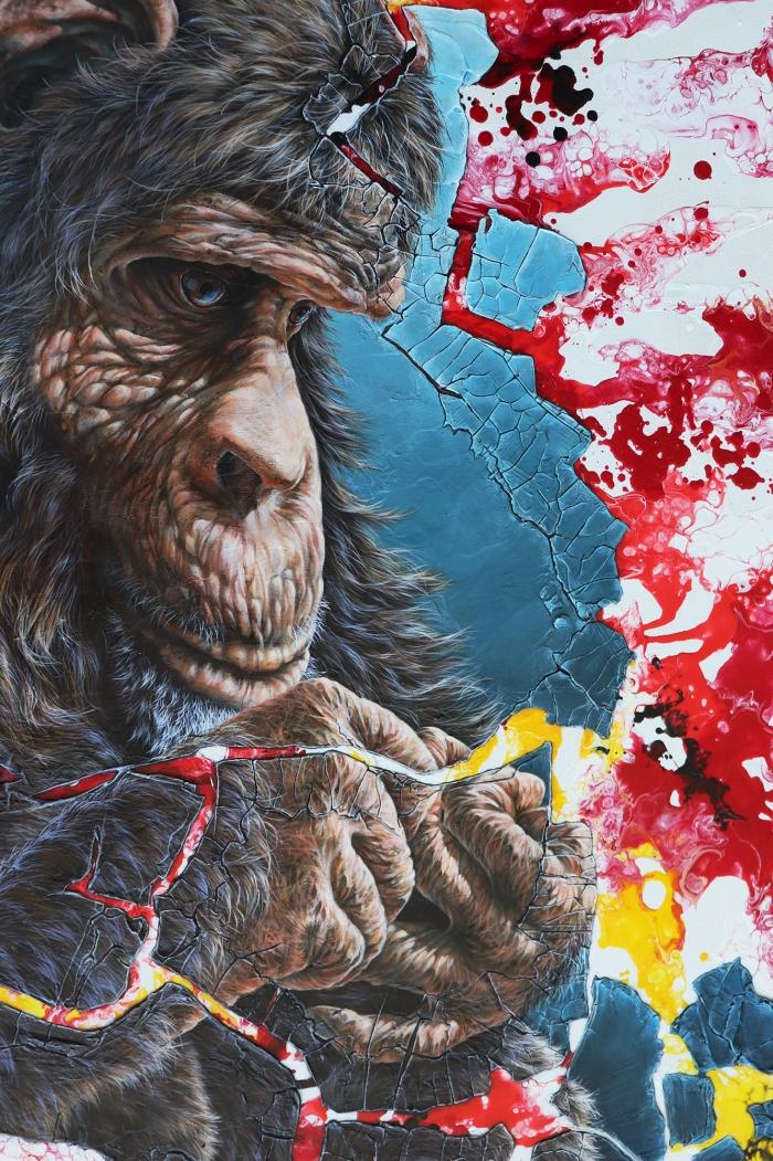 Superposition - Chimpanzé
