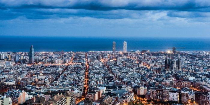 Nuit sur Barcelone