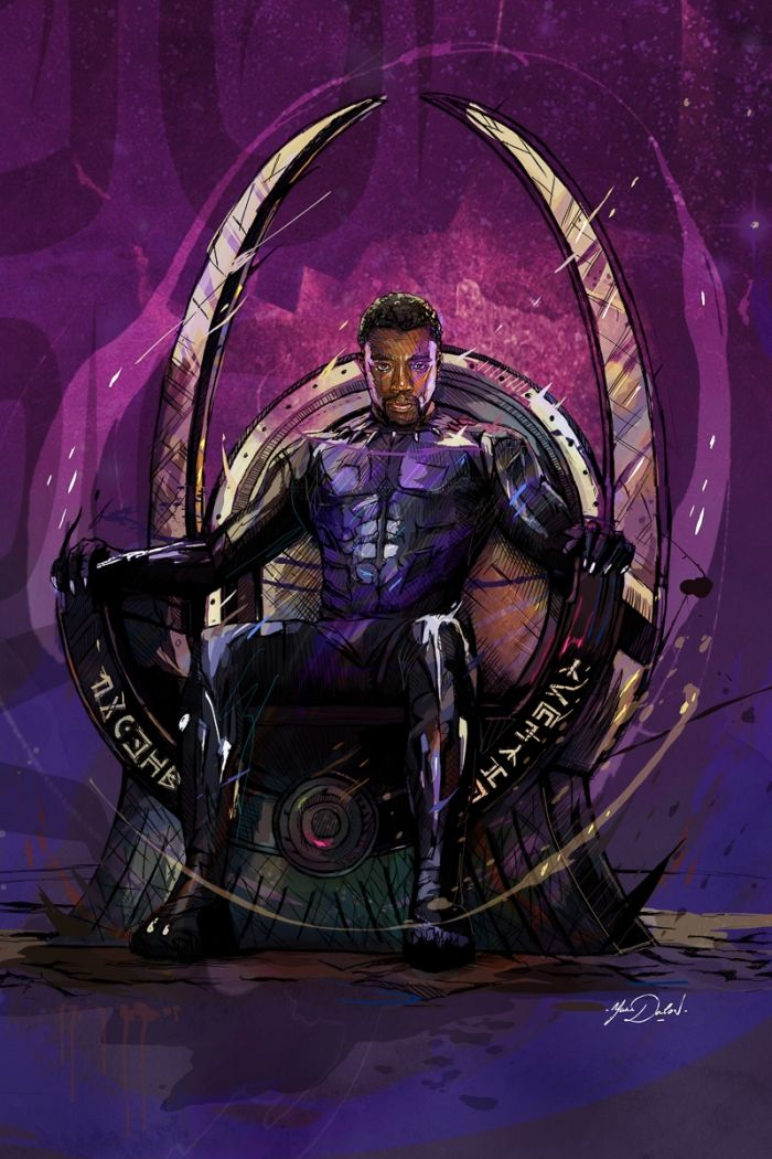 Black Panther Throne
